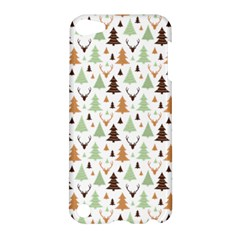 Reindeer Christmas Tree Jungle Art Apple Ipod Touch 5 Hardshell Case by patternstudio