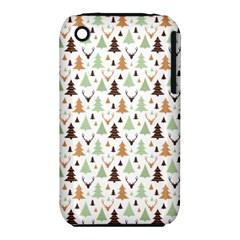 Reindeer Christmas Tree Jungle Art Iphone 3s/3gs by patternstudio