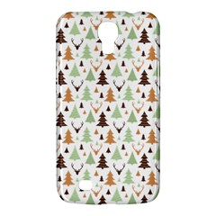 Reindeer Christmas Tree Jungle Art Samsung Galaxy Mega 6 3  I9200 Hardshell Case by patternstudio
