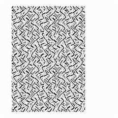 Wavy Intricate Seamless Pattern Design Small Garden Flag (two Sides) by dflcprints