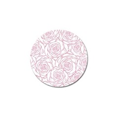 Pink Peonies Golf Ball Marker by 8fugoso