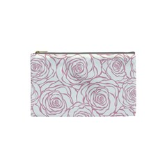 Pink Peonies Cosmetic Bag (small)  by 8fugoso
