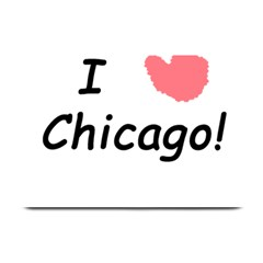 I Heart Chicago  Plate Mats by SeeChicago