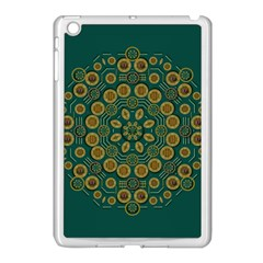 Snow Flower In A Calm Place Of Eternity And Peace Apple Ipad Mini Case (white) by pepitasart