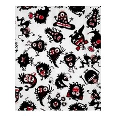 Goofy Monsters Pattern  Shower Curtain 60  X 72  (medium)  by allthingseveryday