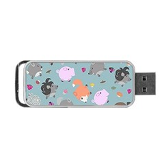 Little Round Animal Friends Portable Usb Flash (two Sides) by allthingseveryday
