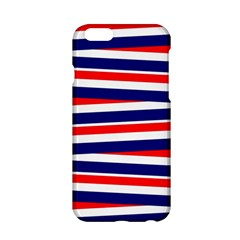 Red White Blue Patriotic Ribbons Apple Iphone 6/6s Hardshell Case by Celenk