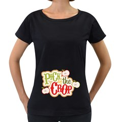 Pick Of The Crop Women s Loose Fit T Shirt (black) by allthingseveryday