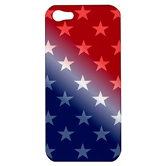 America Patriotic Red White Blue Apple Iphone 5 Hardshell Case by Celenk