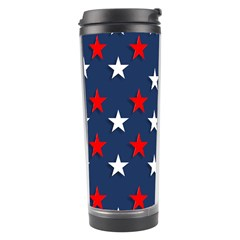 Patriotic Colors America Usa Red Travel Tumbler by Celenk