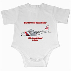 Eads Hc 144 Ocean Sentry Coast Guard Aviator  Infant Creepers by allthingseveryday