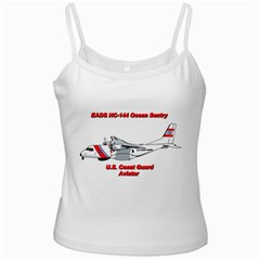 Eads Hc 144 Ocean Sentry Coast Guard Aviator  Ladies Camisoles by allthingseveryday
