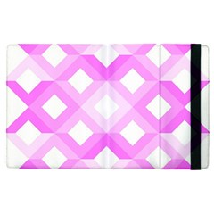 Geometric Chevrons Angles Pink Apple Ipad Pro 9 7   Flip Case by Celenk