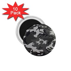 Camouflage Pattern Disguise Army 1 75  Magnets (10 Pack)  by Celenk
