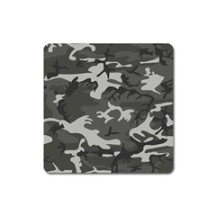 Camouflage Pattern Disguise Army Square Magnet by Celenk
