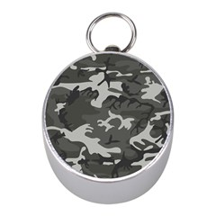 Camouflage Pattern Disguise Army Mini Silver Compasses