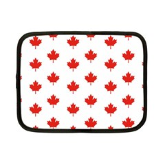 Maple Leaf Canada Emblem Country Netbook Case (small)  by Celenk