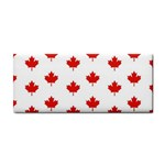 Maple Leaf Canada Emblem Country Cosmetic Storage Cases Front