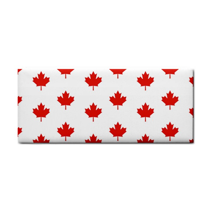 Maple Leaf Canada Emblem Country Cosmetic Storage Cases