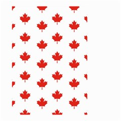 Maple Leaf Canada Emblem Country Small Garden Flag (two Sides) by Celenk