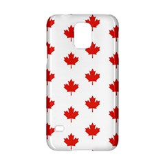 Maple Leaf Canada Emblem Country Samsung Galaxy S5 Hardshell Case  by Celenk