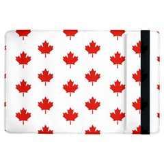 Maple Leaf Canada Emblem Country Ipad Air Flip by Celenk