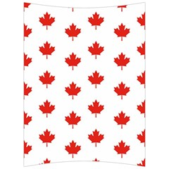 Maple Leaf Canada Emblem Country Back Support Cushion by Celenk