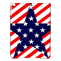 Patriotic Usa Stars Stripes Red Ipad Air Hardshell Cases by Celenk