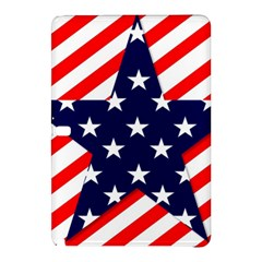 Patriotic Usa Stars Stripes Red Samsung Galaxy Tab Pro 10.1 Hardshell Case