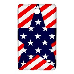 Patriotic Usa Stars Stripes Red Samsung Galaxy Tab 4 (7 ) Hardshell Case