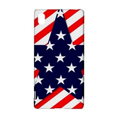 Patriotic Usa Stars Stripes Red Sony Xperia Z3+ by Celenk