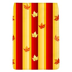Autumn Fall Leaves Vertical Flap Covers (s)  by Celenk