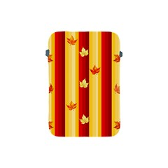 Autumn Fall Leaves Vertical Apple Ipad Mini Protective Soft Cases by Celenk