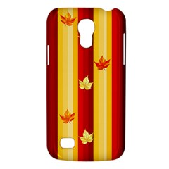 Autumn Fall Leaves Vertical Galaxy S4 Mini by Celenk