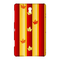 Autumn Fall Leaves Vertical Samsung Galaxy Tab S (8 4 ) Hardshell Case  by Celenk