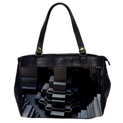 Fractal Render Cube Cubic Shape Office Handbags by Celenk