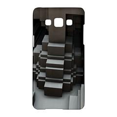 Fractal Render Cube Cubic Shape Samsung Galaxy A5 Hardshell Case  by Celenk