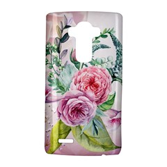 Flowers And Leaves In Soft Purple Colors Lg G4 Hardshell Case by FantasyWorld7