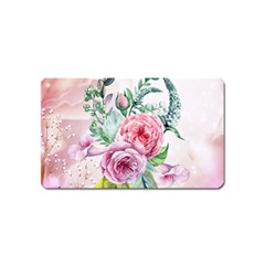 Flowers And Leaves In Soft Purple Colors Magnet (name Card) by FantasyWorld7