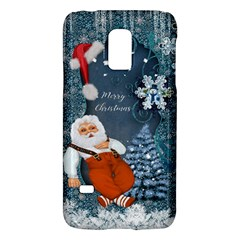 Funny Santa Claus With Snowman Galaxy S5 Mini by FantasyWorld7
