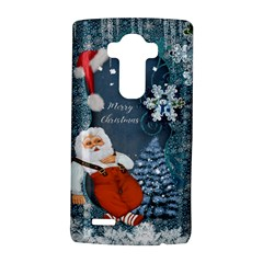 Funny Santa Claus With Snowman Lg G4 Hardshell Case by FantasyWorld7