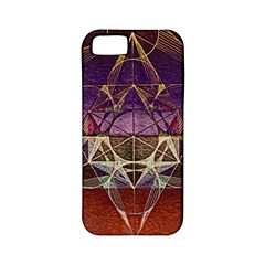 Cube Of Metatrone Diamond Apple Iphone 5 Classic Hardshell Case (pc+silicone) by Cveti