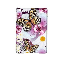 Butterflies With White And Purple Flowers  Ipad Mini 2 Hardshell Cases by allthingseveryday