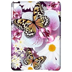 Butterflies With White And Purple Flowers  Apple Ipad Pro 9 7   Hardshell Case by allthingseveryday