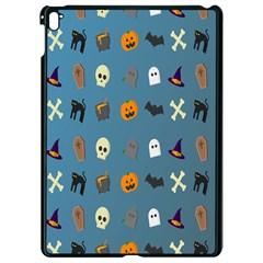 Halloween Cats Pumpkin Pattern Bat Apple Ipad Pro 9 7   Black Seamless Case by Celenk
