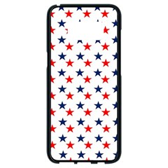 Patriotic Red White Blue Stars Usa Samsung Galaxy S8 Black Seamless Case by Celenk