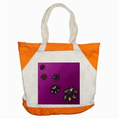 Footprints Paw Animal Track Foot Accent Tote Bag by Celenk
