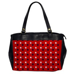 Patriotic Red White Blue Usa Office Handbags by Celenk