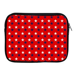 Patriotic Red White Blue Usa Apple Ipad 2/3/4 Zipper Cases by Celenk