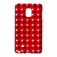 Patriotic Red White Blue Usa Galaxy Note Edge by Celenk